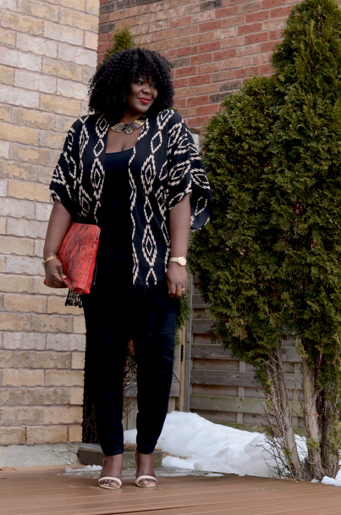 plus size kimono #curvesandcurls #Assacisse #fashion #tribal