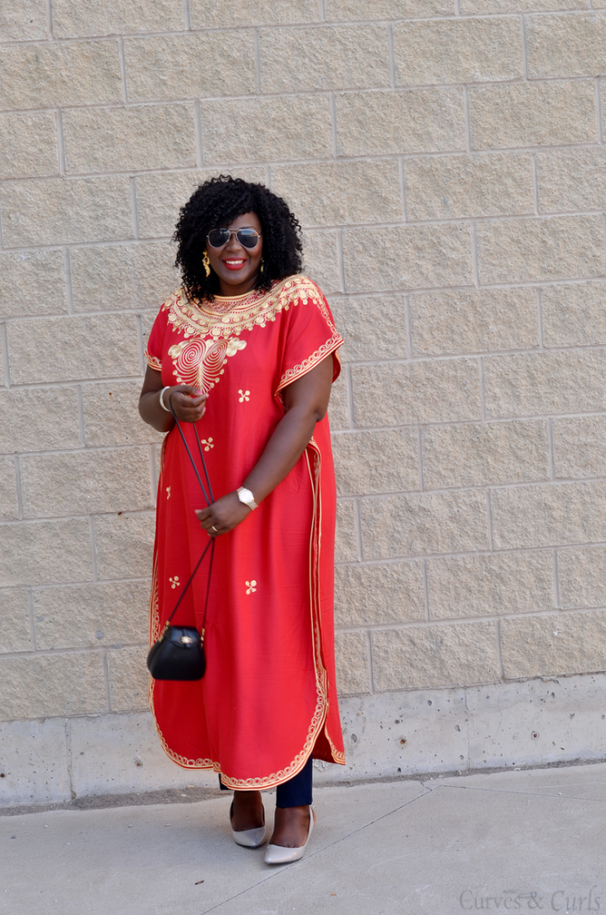 Embroidered Kaftan from Morroco- Toronto travel blogger