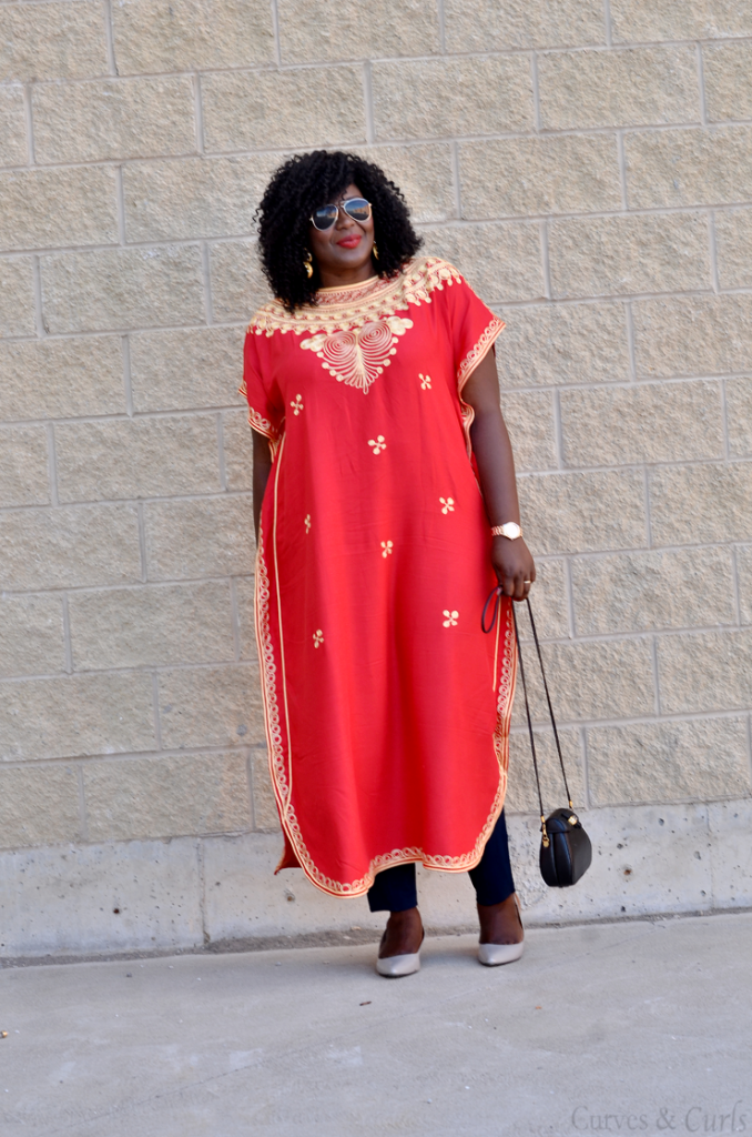 Embroidered Kaftan- Canadian fashion blogs