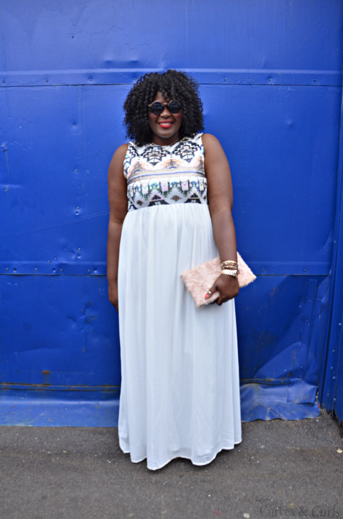 Full Figured Fashion Week in NYC- PLus size blogger Assa cisse from Mycurvesandcurls.com