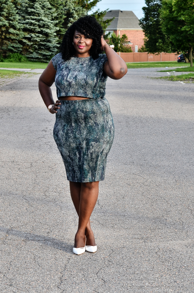 PLus size Matching separates set co-ord- Mycurvesandcurls.com
