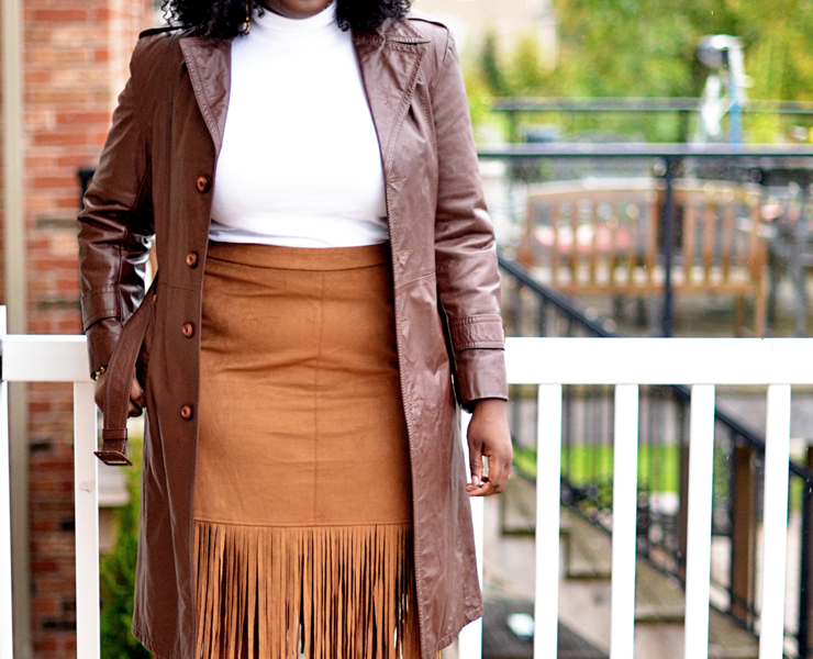 Fringe Skirt for Fall