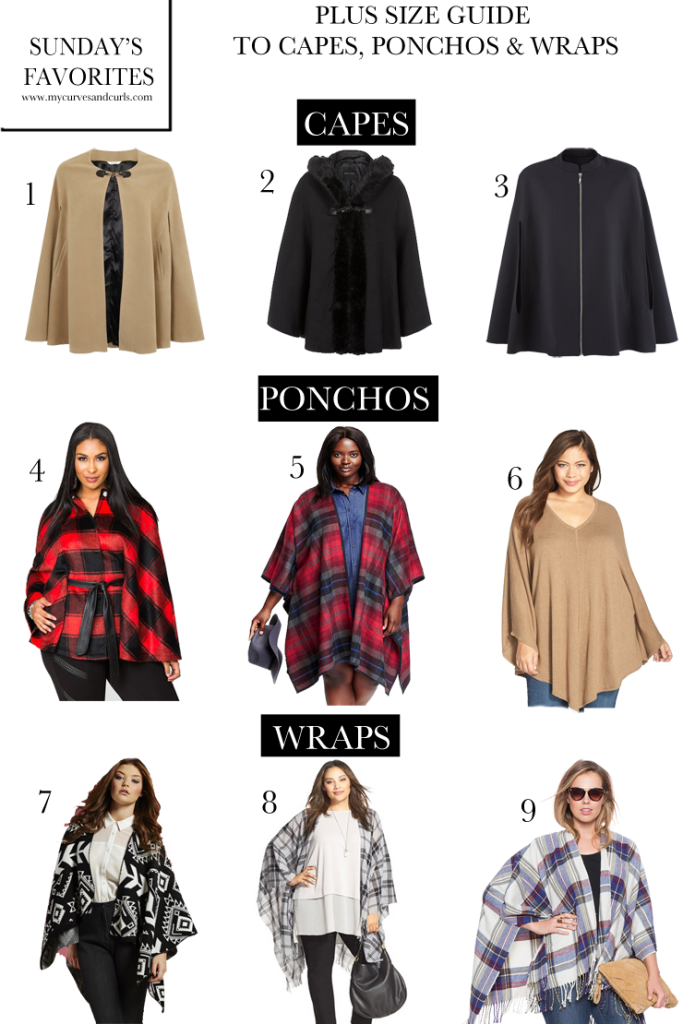 A plus size guide to Capes, ponchos and Wraps. Click to find all the latest. #women #fashion #style