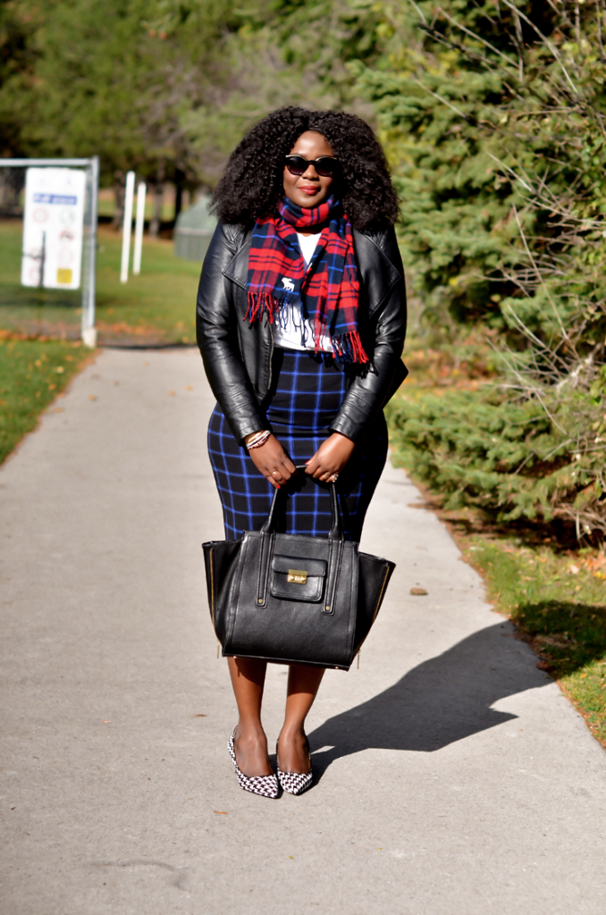 How to mix print Mixing print: Plaid On Plaid
