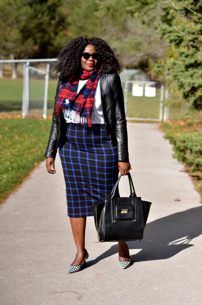 Fall outfit, how to mix patterns and prints