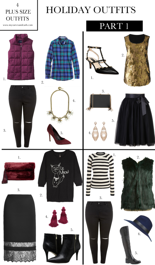 Plus Size outfit ideas for the holidays-mycurvesandcurls.com