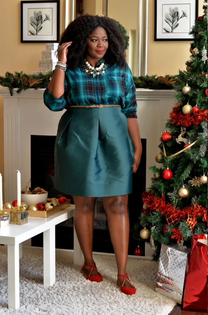 plus size holiday outfit ideas