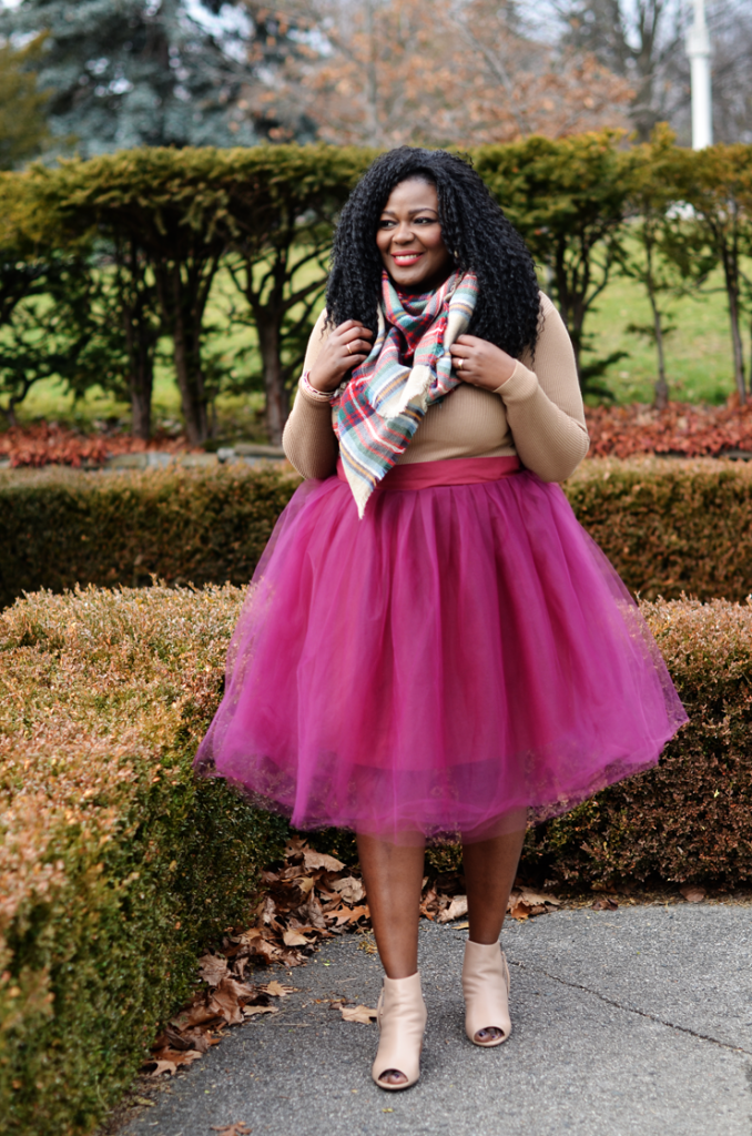 Tulle Skirt , Canadian fashion blogger, Plus size fashion blogs