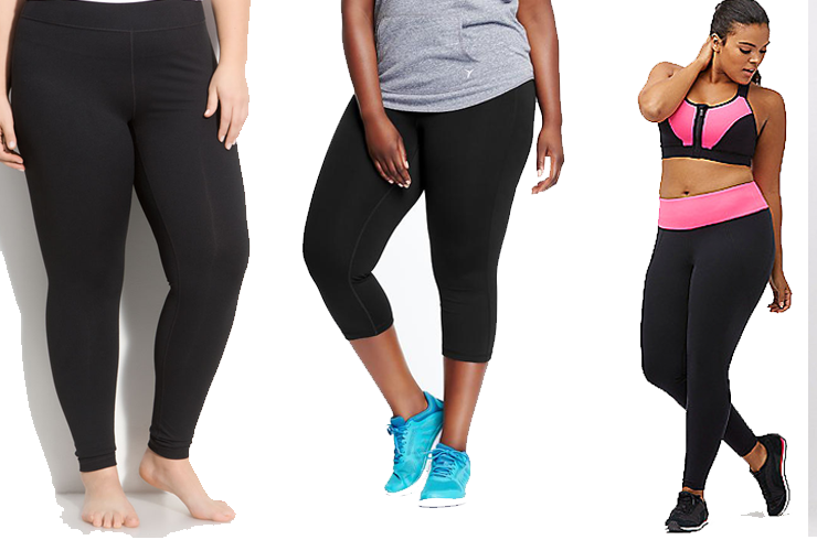 Plus Size Workout Clothes and active wear- Good work out clothes for plus size women