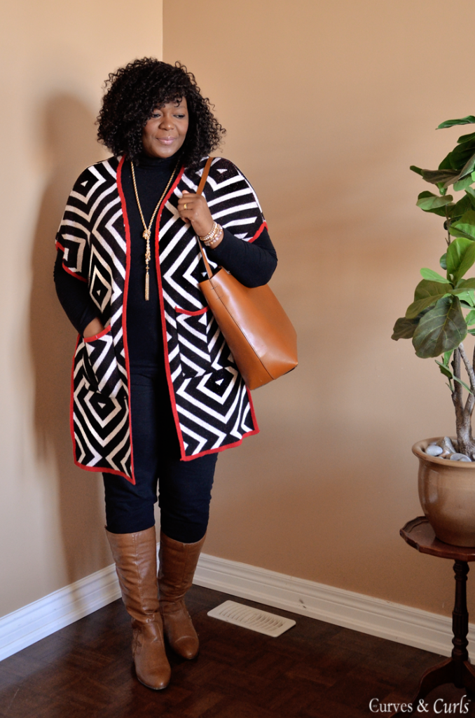Plus size tribal cardigan #assacisse #plussize fashion for women