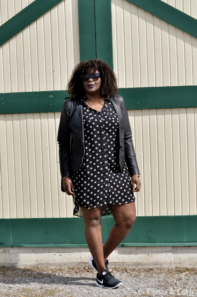 how to wear a shirt dress in Spring