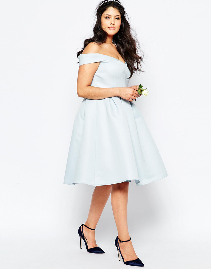 What to Wear to a Spring Wedding (Plus Size)