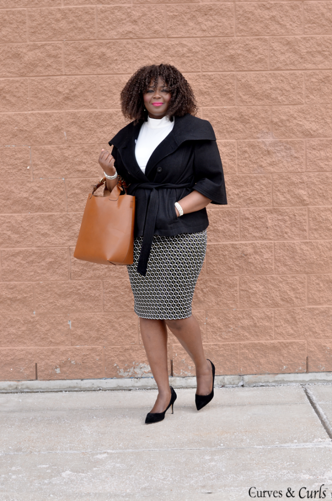 Assa Cisse- Canadian top plus size blogger- work outfit idea