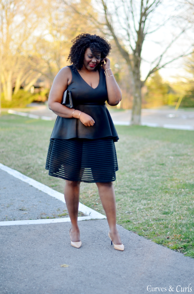 how to wear a peplum top- Assa Cisse -mycurvesandcurls.com