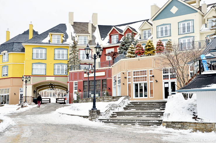 The Mont Tremblant village & Ski Resort review from a Toronto travel blogger
