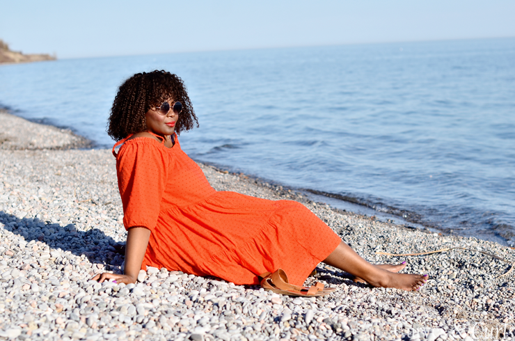 Top toronto lifestyle blogger- Assa Cisse- h&M dress by lake ontario