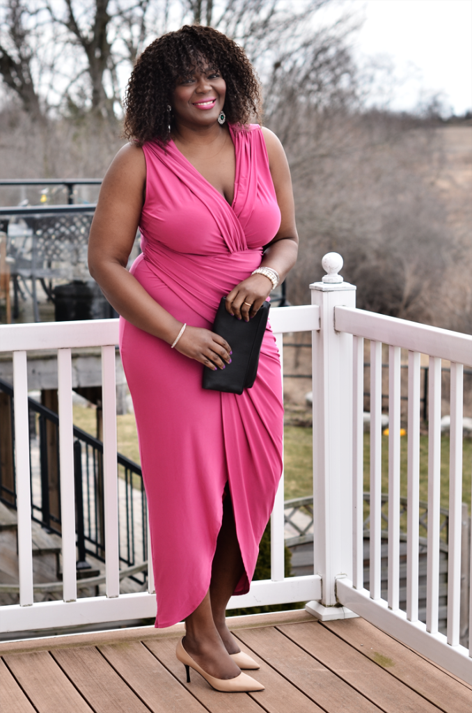 Fashion to figure- draped dress by Assa Cisse- toronto top fashion blogger